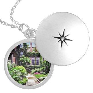 Boston MA - Hidden Garden Locket Necklace