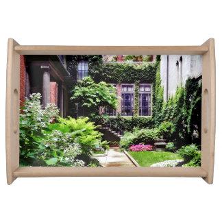 Boston MA - Hidden Garden Serving Tray