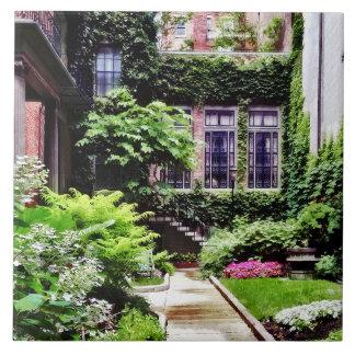 Boston MA - Hidden Garden Tile