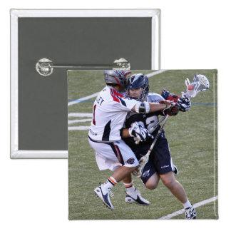 BOSTON, MA - JUNE 4:  Dan Hardy #22 2 Inch Square Button