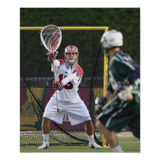 BOSTON, MA - MAY 14: Kip Turner #15 goalie for Poster