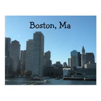 Boston MA Postcard