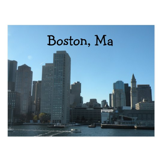 Boston MA Postcard