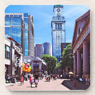Boston MA - Quincy Market Coaster