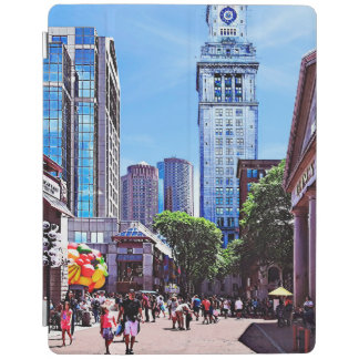 Boston MA - Quincy Market iPad Cover