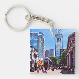 Boston MA - Quincy Market Keychain