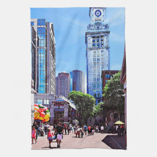 Boston MA - Quincy Market Kitchen Towel