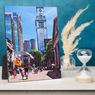 Boston MA - Quincy Market Plaque