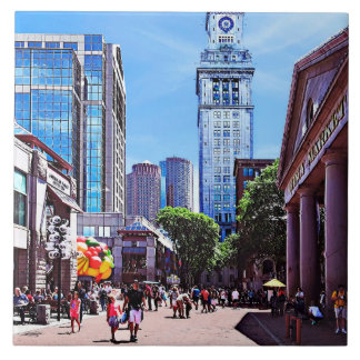 Boston MA - Quincy Market Tile