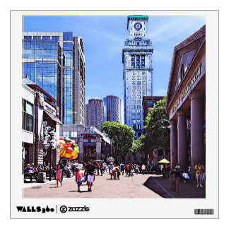 Boston MA - Quincy Market Wall Decal