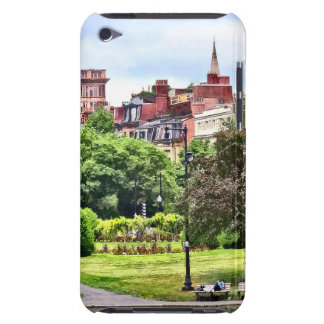 Boston MA - Relaxing In Boston Public Garden Barely There iPod Cover
