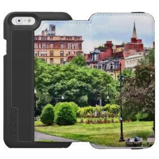 Boston MA - Relaxing In Boston Public Garden Incipio Watson™ iPhone 6 Wallet Case