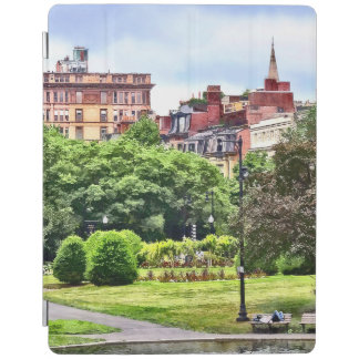 Boston MA - Relaxing In Boston Public Garden iPad Cover