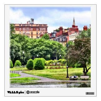 Boston MA - Relaxing In Boston Public Garden Wall Sticker