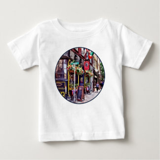 Boston MA - Restaurants on Creek Square Baby T-Shirt