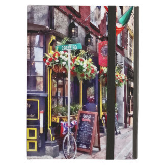 Boston MA - Restaurants on Creek Square iPad Air Cover