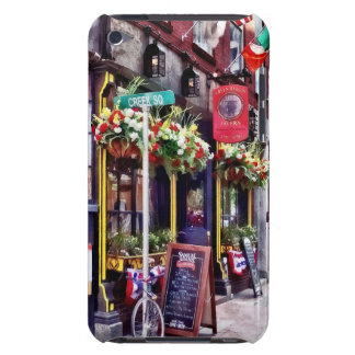 Boston MA - Restaurants on Creek Square iPod Touch Case