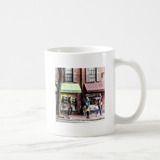 Boston Ma - Street With Candy Store And Bakery Coffee Mug