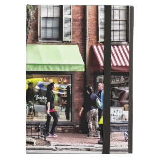 Boston Ma - Street With Candy Store And Bakery iPad Air Case
