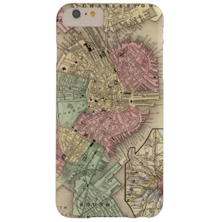 Boston Map by Mitchell Barely There iPhone 6 Plus Case