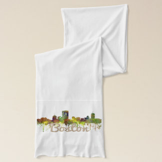 Boston Mas .Skyline Safari Buff Scarf