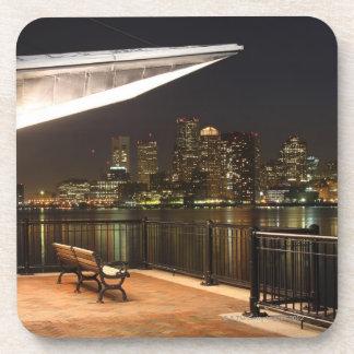 Boston, Massachusetts Drink Coaster