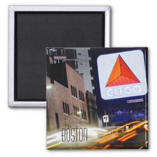 Boston Massachusetts Kenmore Square Fridge Magnet