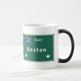 Boston Massachusetts ma Interstate Highway Road : Magic Mug