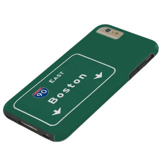 Boston Massachusetts ma Interstate Highway Road : Tough iPhone 6 Plus Case