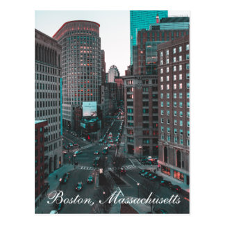 Boston Massachusetts - New England, United States, Postcard