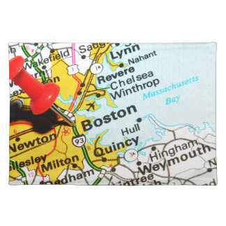 Boston, Massachusetts Placemat