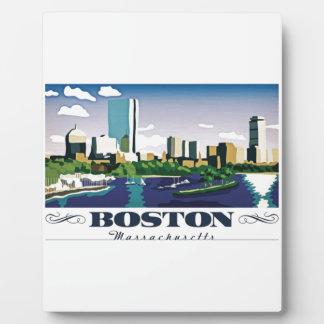 Boston, Massachusetts Plaques