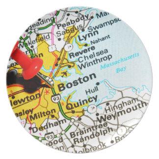 Boston, Massachusetts Plate