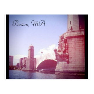 Boston Massachusetts Postcard