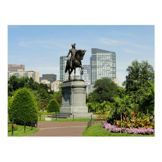 Boston Massachusetts Skyline - USA Postcard