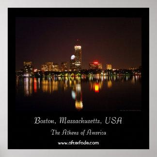 Boston, Massachusetts, USA Poster
