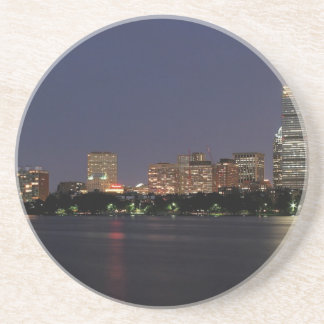 Boston Night Skyline Coaster