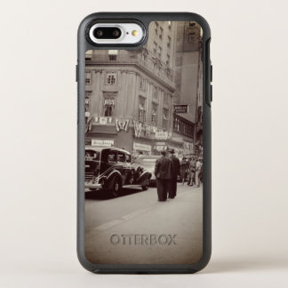 Boston Parker House Hotel 1930's Photograph Car OtterBox Symmetry iPhone 8 Plus/7 Plus Case