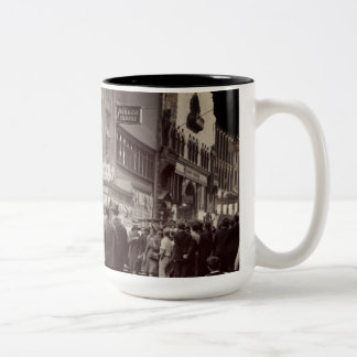 Boston Parker House Hotel 1930's Photograph Car Two-Tone Coffee Mug