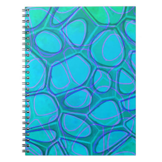 Boston Pattern Two Abstract Notebooks