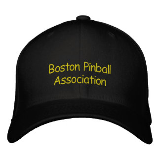 Boston Pinball Association Embroidered Hat