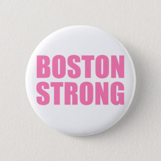 Boston Pink Strong 2 Inch Round Button