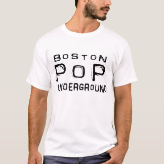 Boston Pop Underground - Grunge Logo T-Shirt