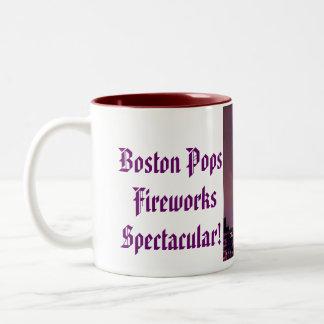 Boston Pops Fireworks Spectacular! Two-Tone Coffee Mug