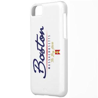 Boston Script iPhone 5C Case