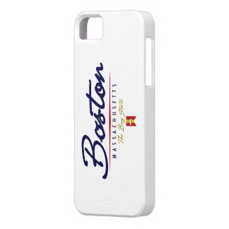 Boston Script iPhone 5 Case