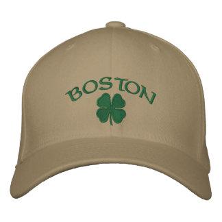 Boston Shamrock Hat Embroidered Hat