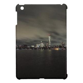 Boston Skyline at Night iPad Mini Cases