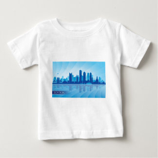Boston Skyline Baby T-Shirt