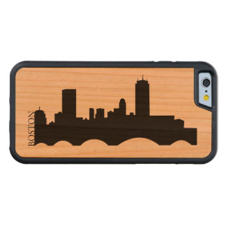 Boston Skyline Cherry iPhone 6 Bumper Case